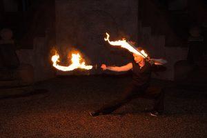 Feuerschwert Tanz